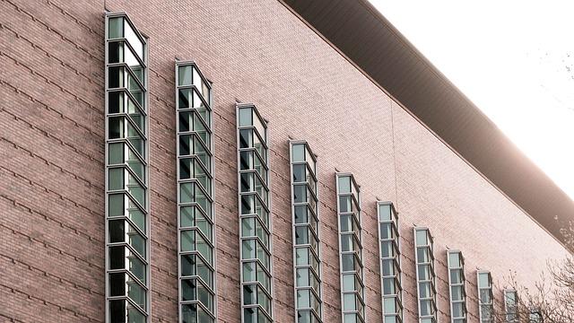 fachada da fábrica